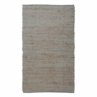 Neal Diamond Blue Area Rug Rug Size: 76 x 96