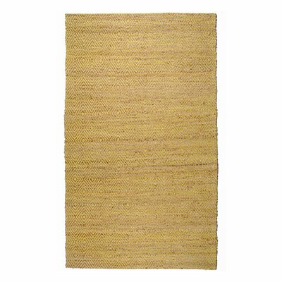 Neal Diamond Green Area Rug Rug Size: 76 x 96