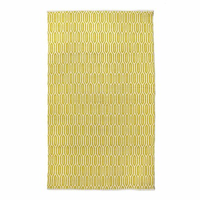 New Ogee Citron Area Rug Rug Size: 76 x 96
