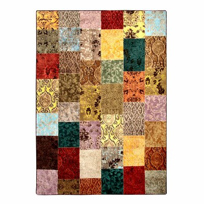 O-Patch Multi Area Rug Rug Size: 53 x 76