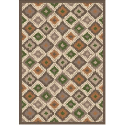 Wellington Ikat Earth Rug Rug Size: 5 x 7