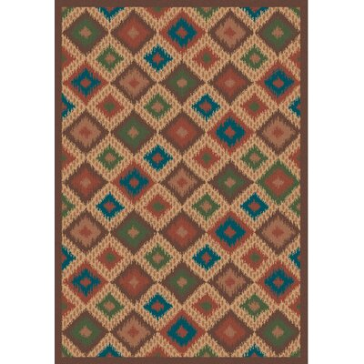Wellington Ikat Multicolor Rug Rug Size: Runner 22 x 56