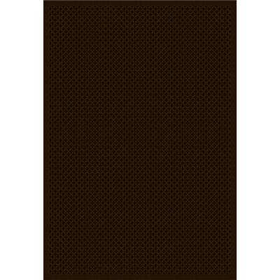Cheshire Trellis Chocolate Rug Rug Size: 24 x 37