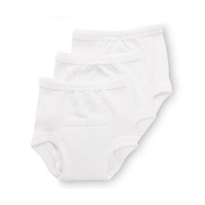 Gerber Baby Care Training Pant in White (Pack of 3) - Size: 3T at Sears.com