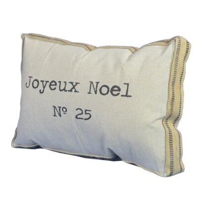 Joyeux Noel Lumbar Pillow