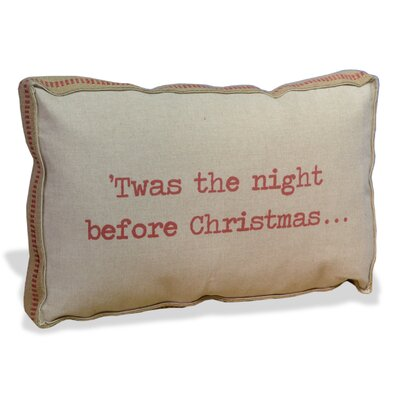 Twas the Night Before Christmas Lumbar Pillow