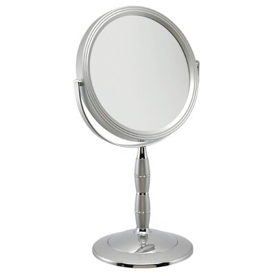 FMB 7x Magnification Pedestal Mirror with Swarovski Crystal