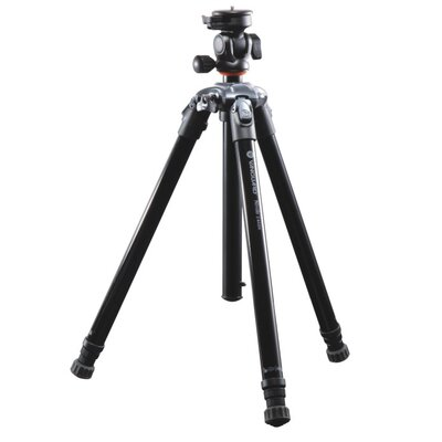 Nivelo 244BK Black. Aluminum Tripod w/ Quick Attach Camera Screw