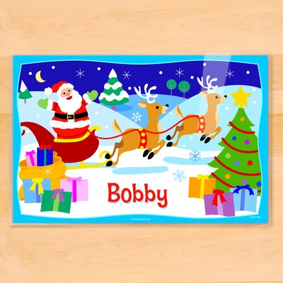 Christmas Personalized Placemat