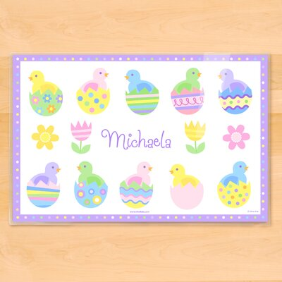Easter Chicks Personalized Placemat PM-ESTR-101-P3X