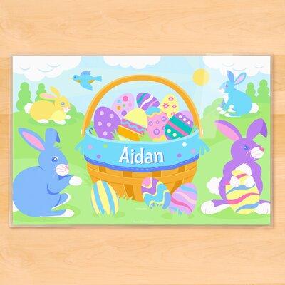 Easter Basket Boys Personalized Placemat PM-ESTR-101-P5X