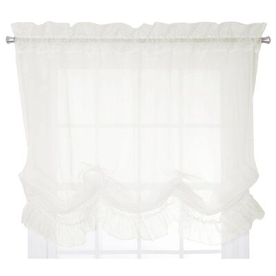 Chaston Tie-Up Shade Color: Ivory