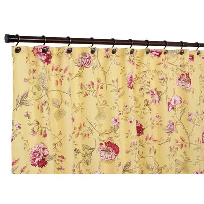 Yellow and Pinks Curtain