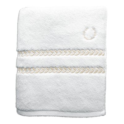Pearl Essence Bath Towel Color: White / Ivory