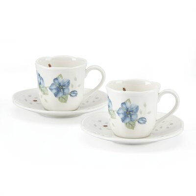 Butterfly Meadow Espresso Cup and Saucer 808072