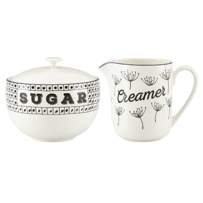 Lenox Around the Table Sugar & Creamer Set