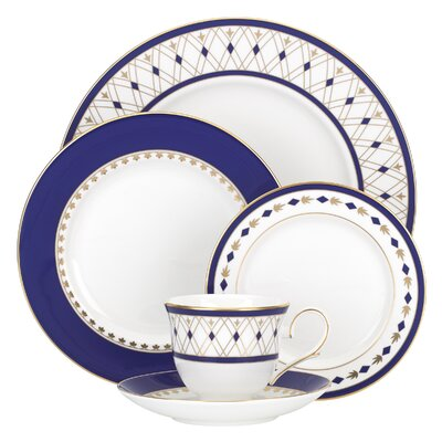Royal Grandeur Bone China 5 Piece Place Setting, Service for 1 858866