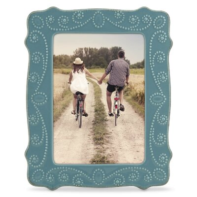 French Perle Picture Frame Color: Blue 869599