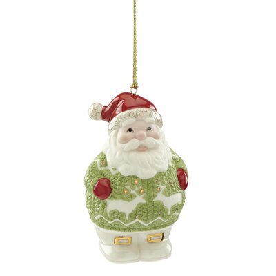 Christmas Sweater Santa Hanging Figurine Ornament 870928