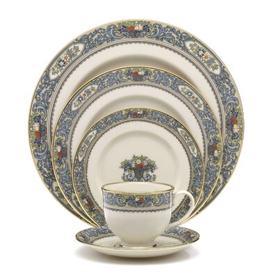 Autumn Bone China 5 Piece Place Setting, Service for 1 116890610