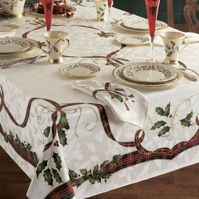 "Lenox Holiday Nouveau Tablecloth - Size: 84"" W x 60"" D at Sears.com"
