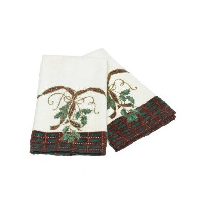 Holiday Nouveau Fingertip Towel