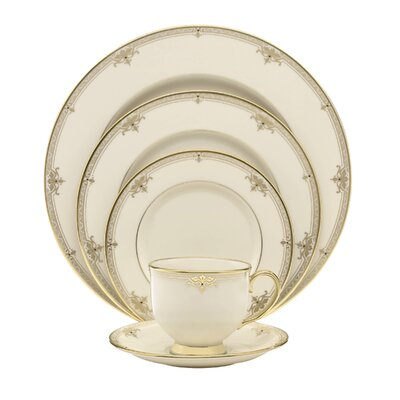 Republic Bone China 5 Piece Place Setting, Service for 1 111990610