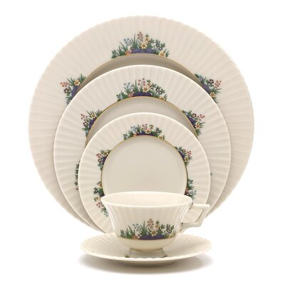 Rutledge Bone China 5 Piece Place Setting, Service for 1 135090600