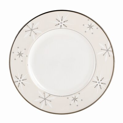 Federal Platinum Snowflake Accent Plate