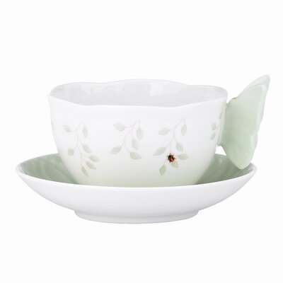 Lenox Butterfly Meadow 8 oz. Cup and Saucer - Color: Fig (Set of 2) at Sears.com