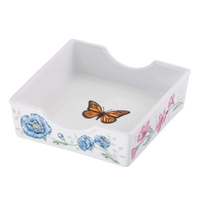 Butterfly Meadow Napkins Box With Napkins