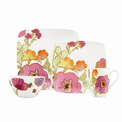 Floral Fusion Dinnerware Set
