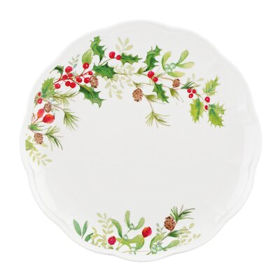 Winter Meadow Holly Dinner Plate (set Of 4)