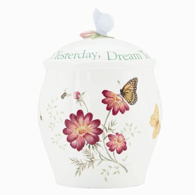 Lenox Butterfly Meadow Sentiment Cookie Jar at Sears.com