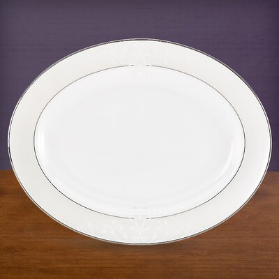 Opal Innocence Scroll Oval Serving Tray 811376