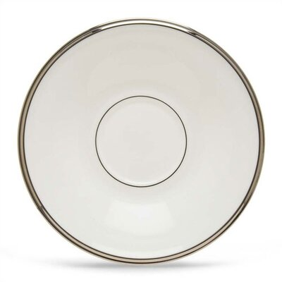 Solitaire White Saucer (set Of 4)