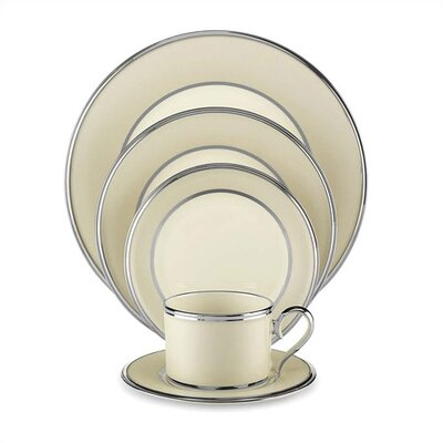 Lenox Dinnerware-ivory Frost Square Accent Plate