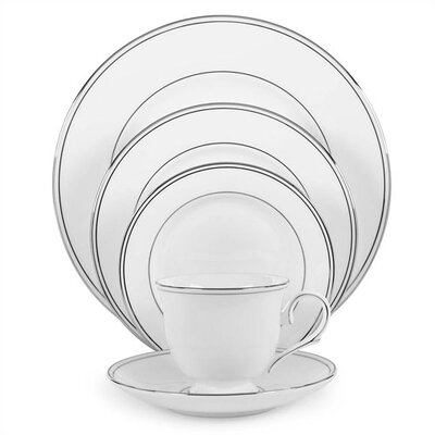 Federal Platinum Bone China 5 Piece Place Setting, Service for 1-Federal Covered Vegetable Bowl 100291312