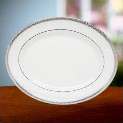 Lace Couture 13 Oval Platter