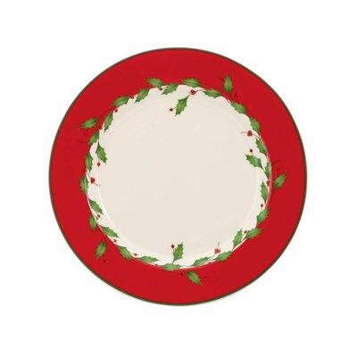 Holiday Dessert Plate (set Of 4)