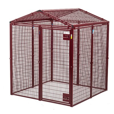 Heavy Duty Gable Covered Animal Cage