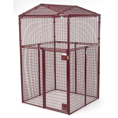 Ultra Heavy Duty Gable Covered Animal Cage