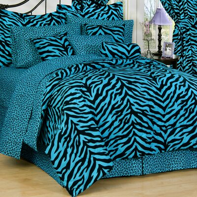 Zebra Comforter Set Size: Twin Extra Long