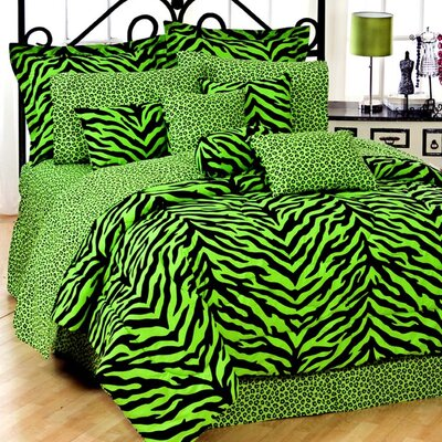 Zebra Comforter Set Size: Queen