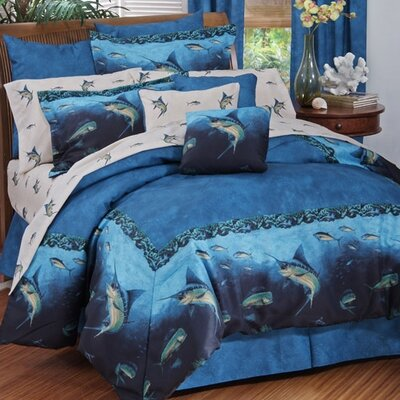 Coral Reef 3 Piece Sheet Set Size: King