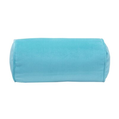 Flower Fantasy Neckroll Pillow in Aqua