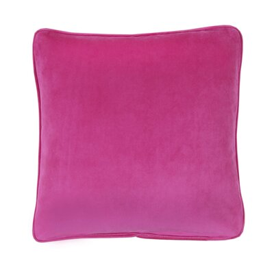 Flower Fantasy Square Pillow in Pink