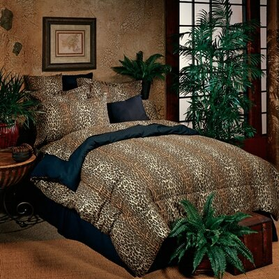 Leopard Bed-In-A-Bag Set Size: Twin XL