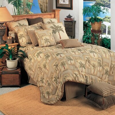 Palm Grove Comforter Set Size: King