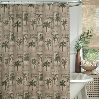 Palm Grove Shower Curtain